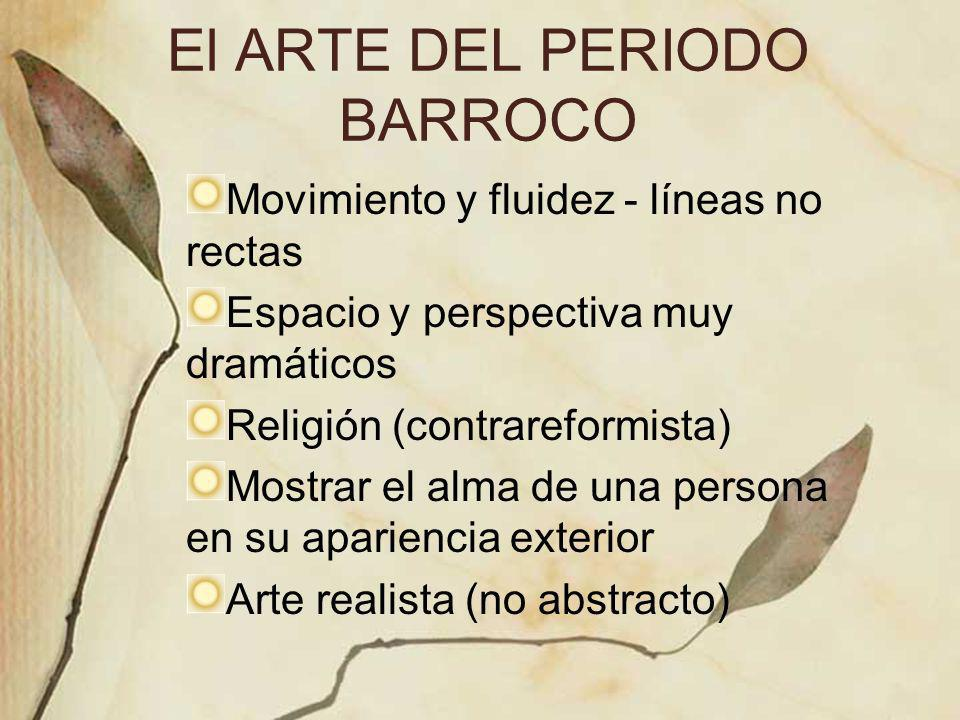 El ARTE DEL PERIODO BARROCO
