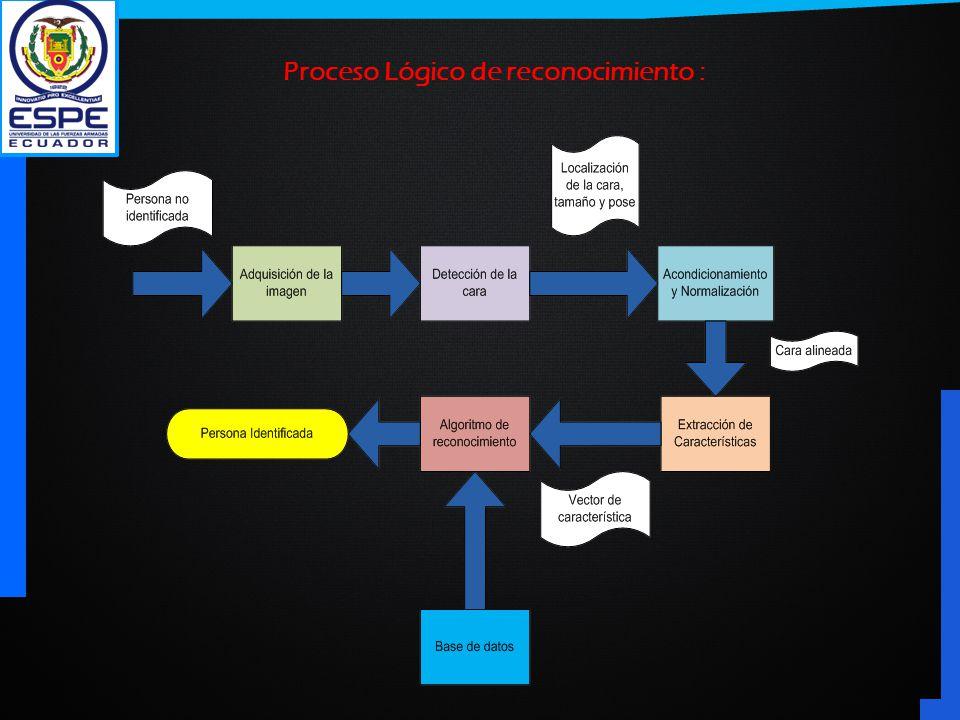 Proceso Lógico de reconocimiento :
