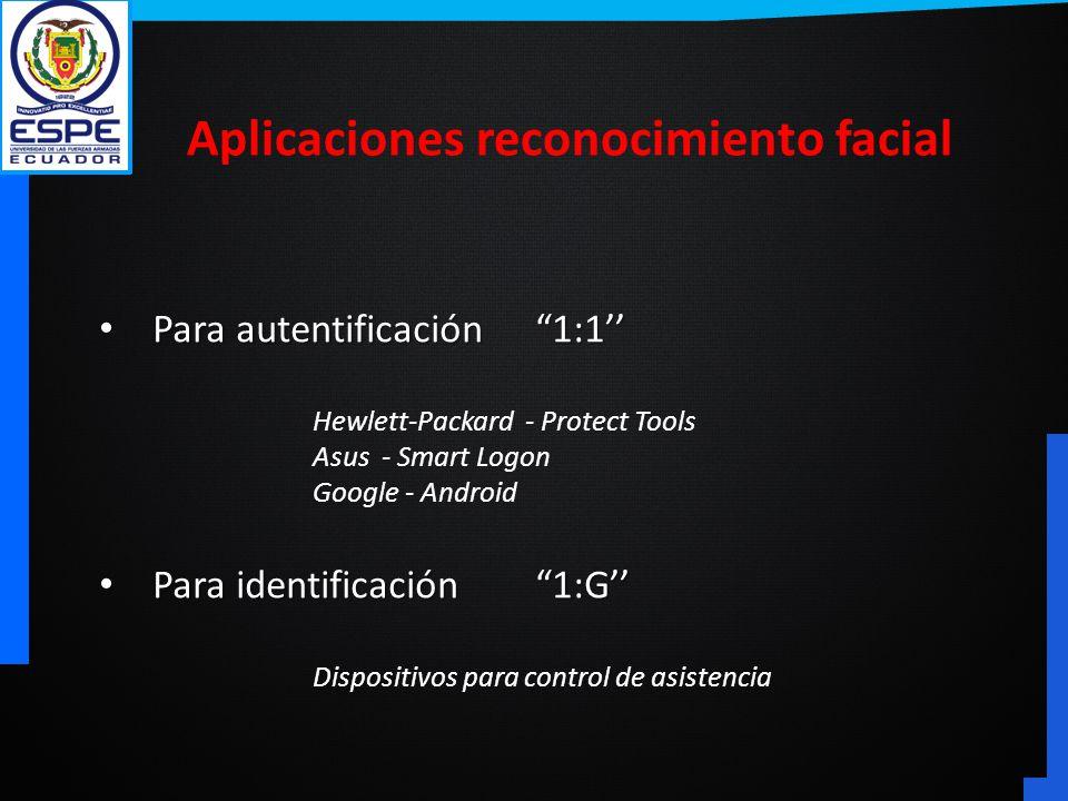 Aplicaciones reconocimiento facial