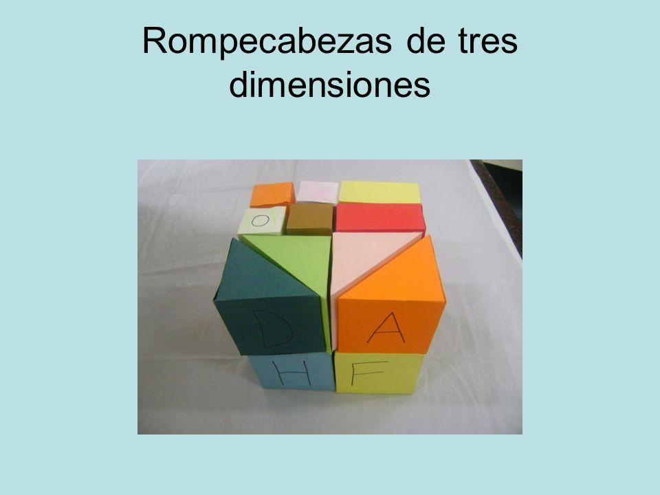 Rompecabezas de tres dimensiones