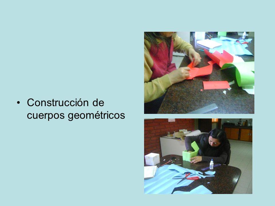 Construcción de cuerpos geométricos