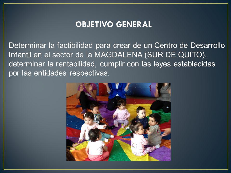 Determinar la factibilidad para crear de un Centro de Desarrollo