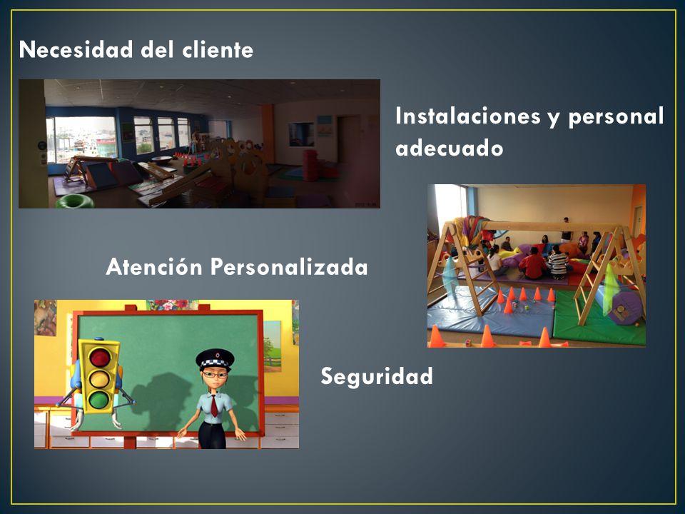 Instalaciones y personal adecuado