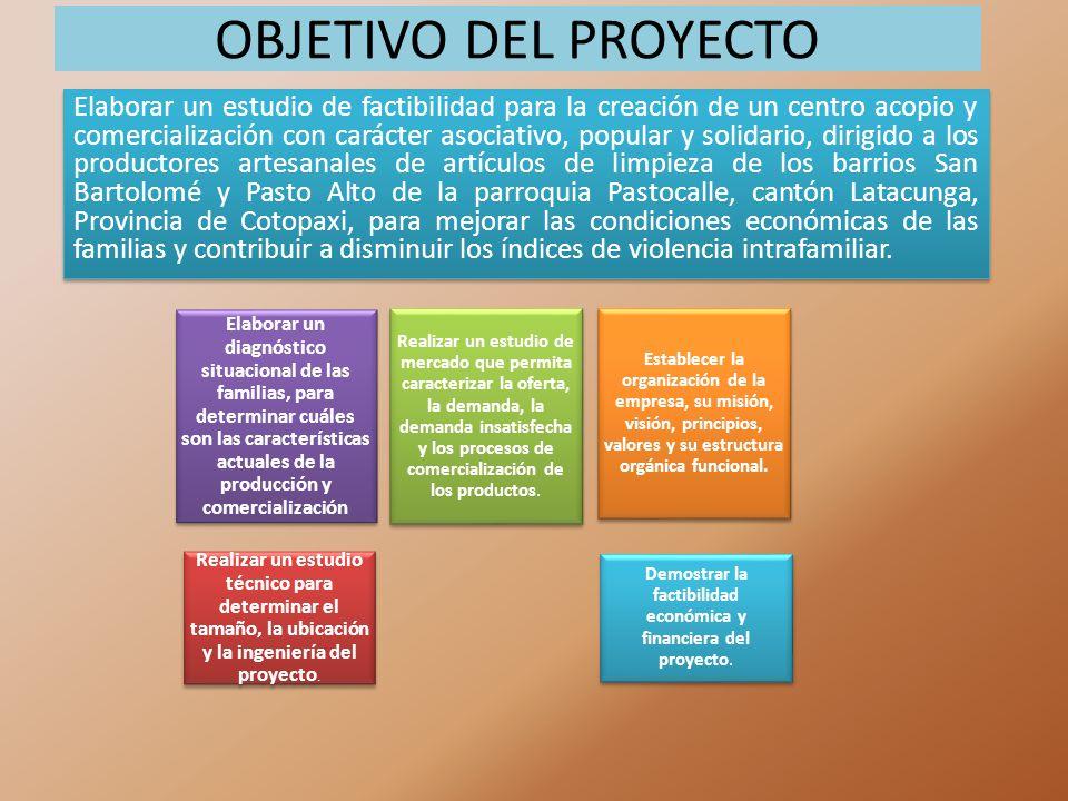 Demostrar la factibilidad económica y financiera del proyecto.