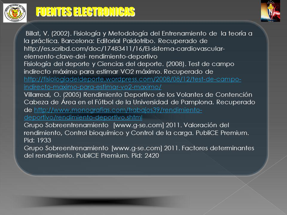 FUENTES ELECTRONICAS