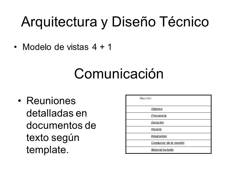 Arquitectura y Diseño Técnico