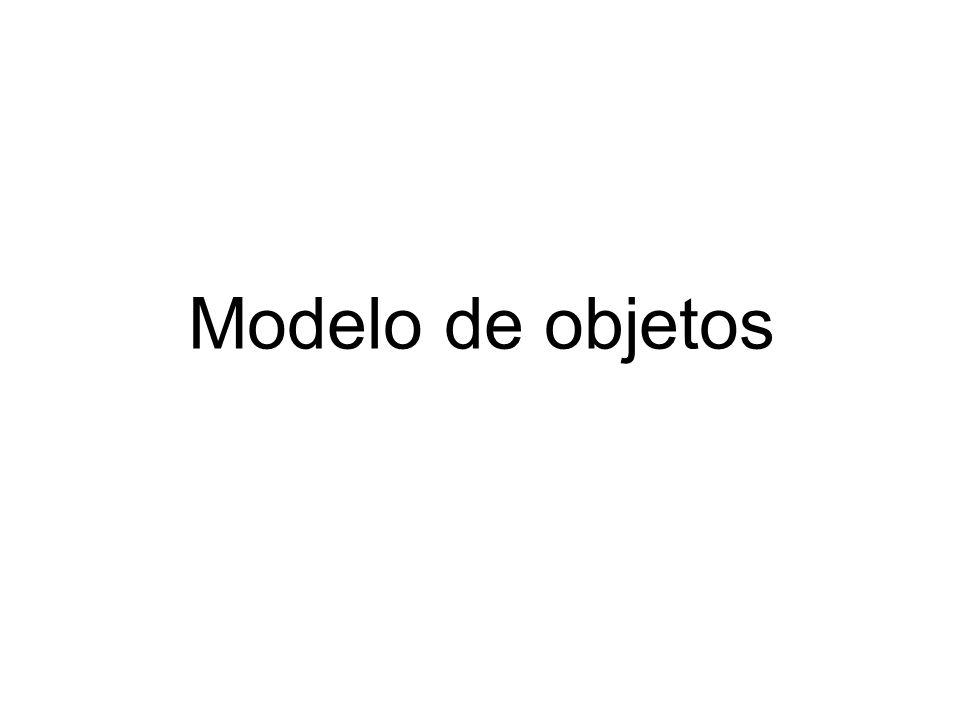 Modelo de objetos