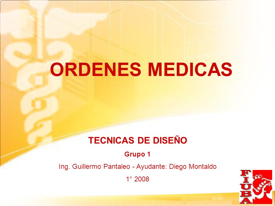 Ing. Guillermo Pantaleo - Ayudante: Diego Montaldo