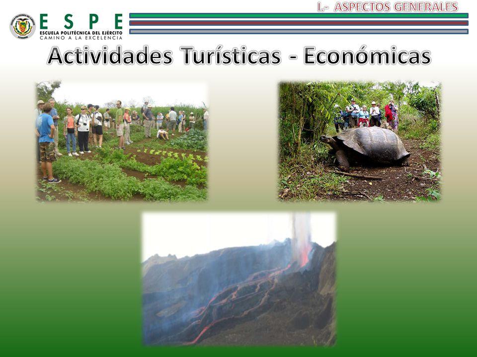Actividades Turísticas - Económicas