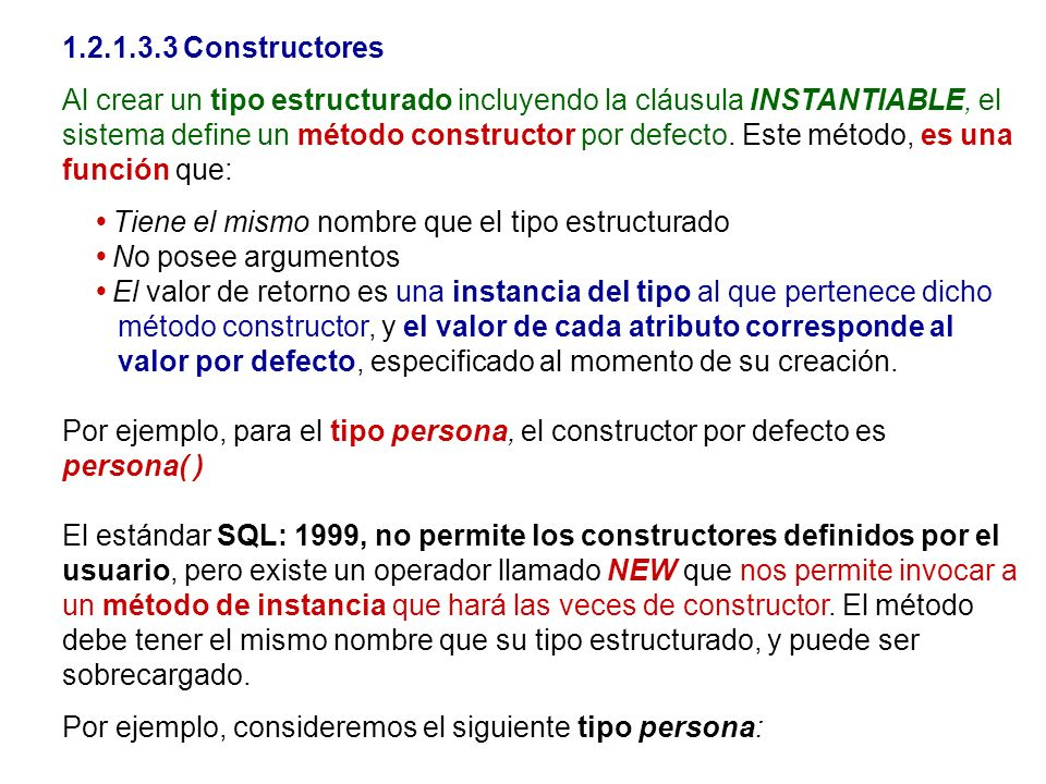 1.2.1.3.3 Constructores