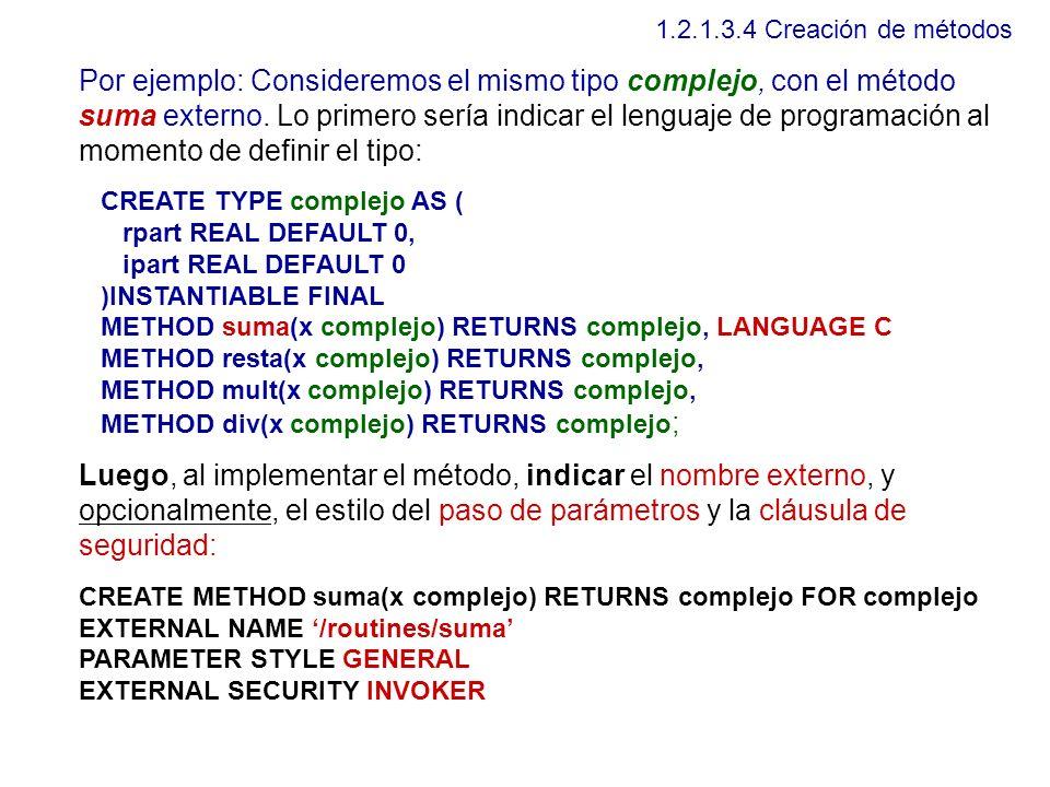 1.2.1.3.4 Creación de métodos