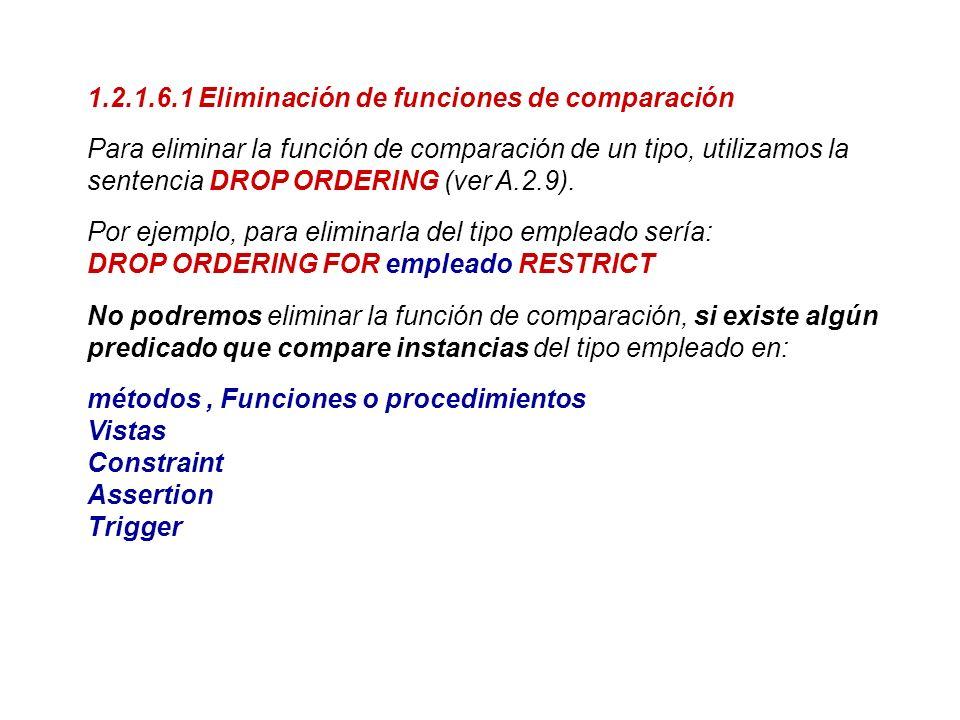 1.2.1.6.1 Eliminación de funciones de comparación