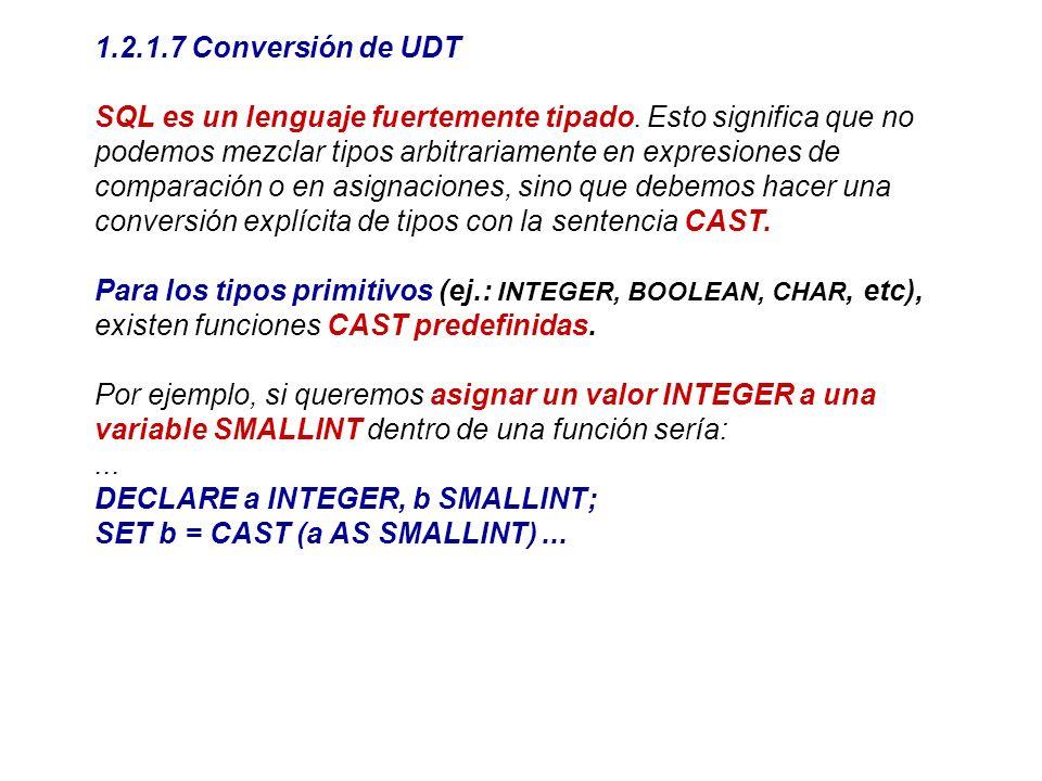 1.2.1.7 Conversión de UDT