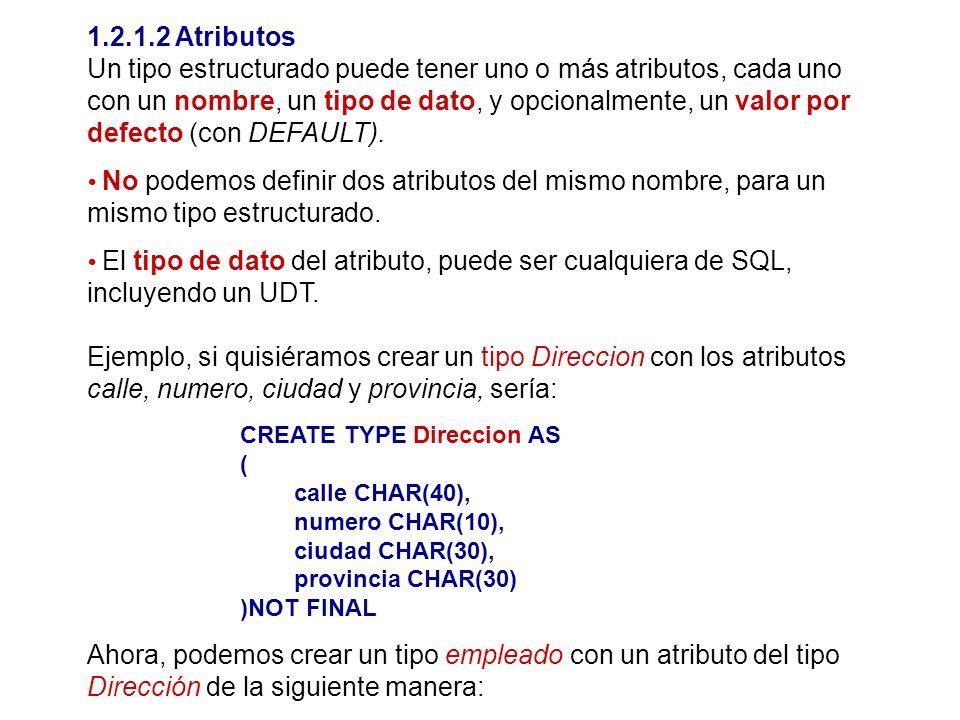 1.2.1.2 Atributos