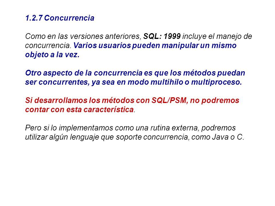 1.2.7 Concurrencia