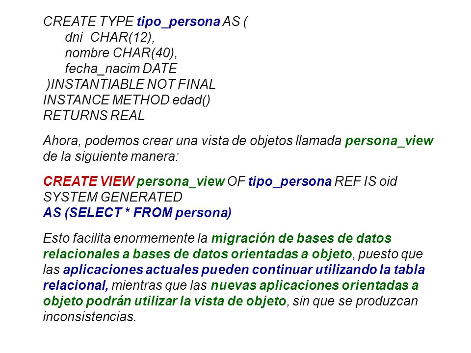 CREATE TYPE tipo_persona AS (