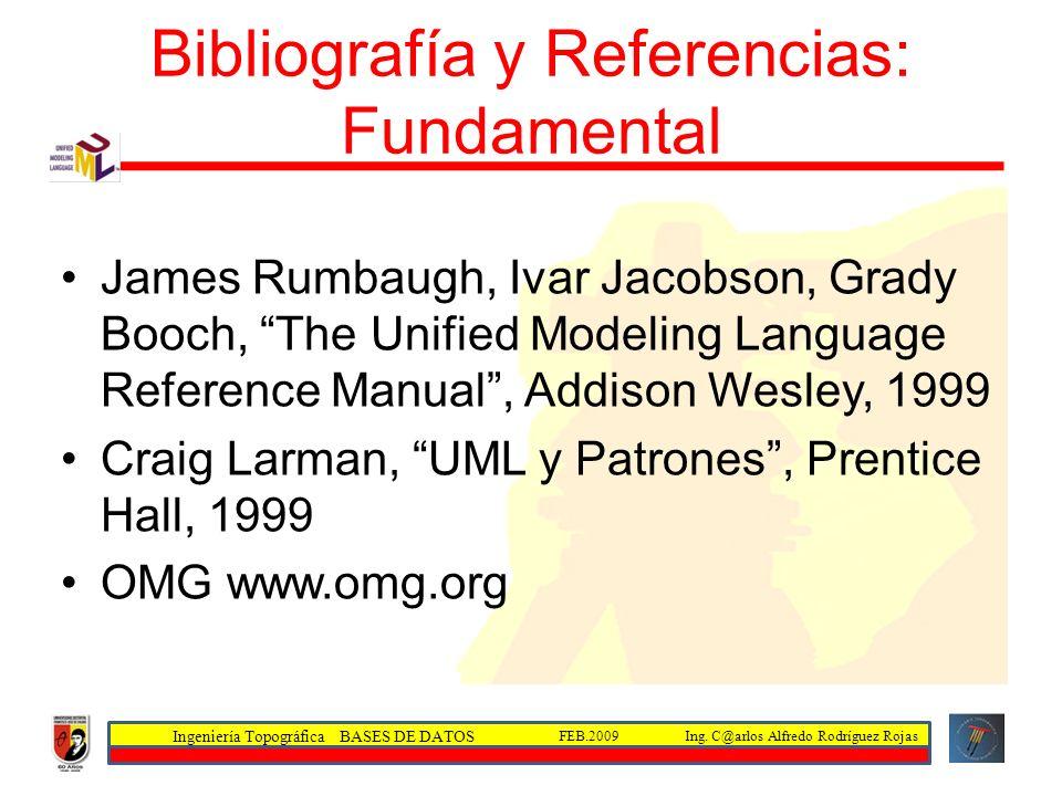 Bibliografía y Referencias: Fundamental
