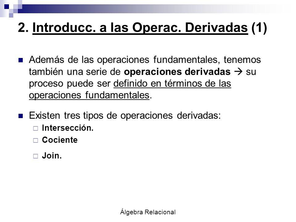 2. Introducc. a las Operac. Derivadas (1)