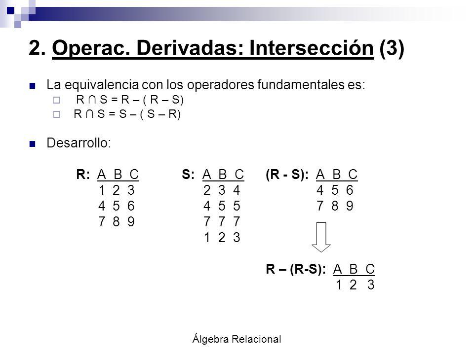 2. Operac. Derivadas: Intersección (3)