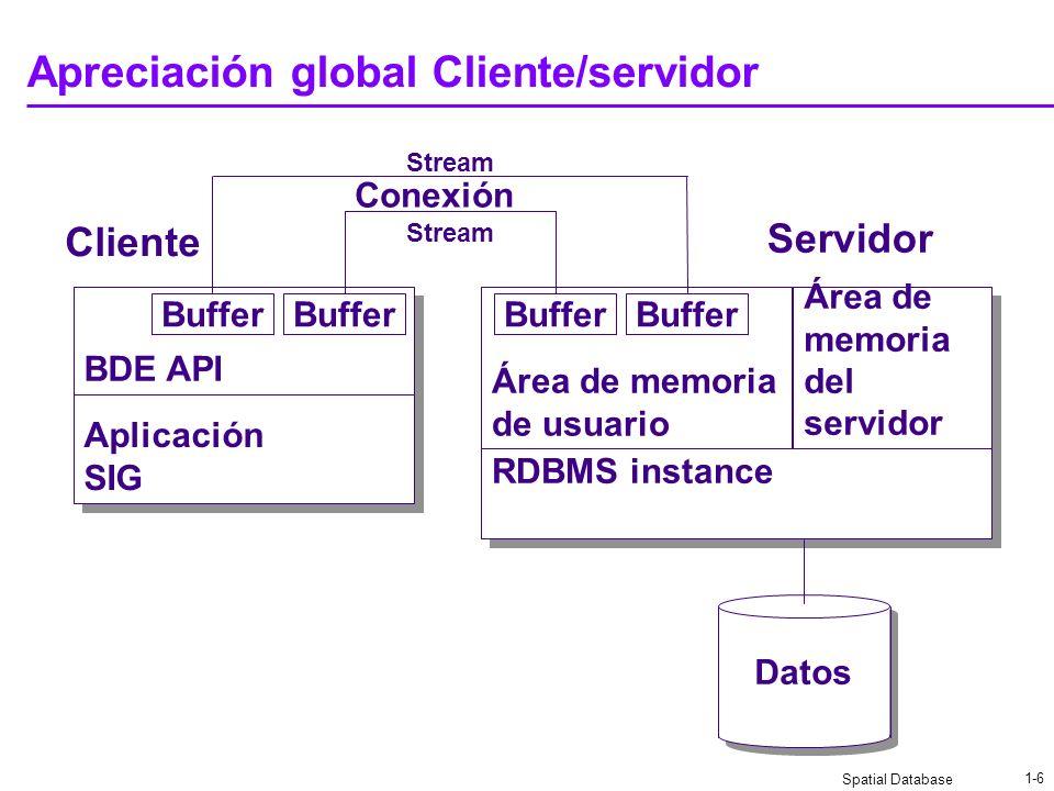Apreciación global Cliente/servidor