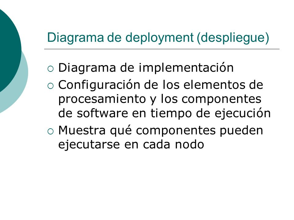 Diagrama de deployment (despliegue)