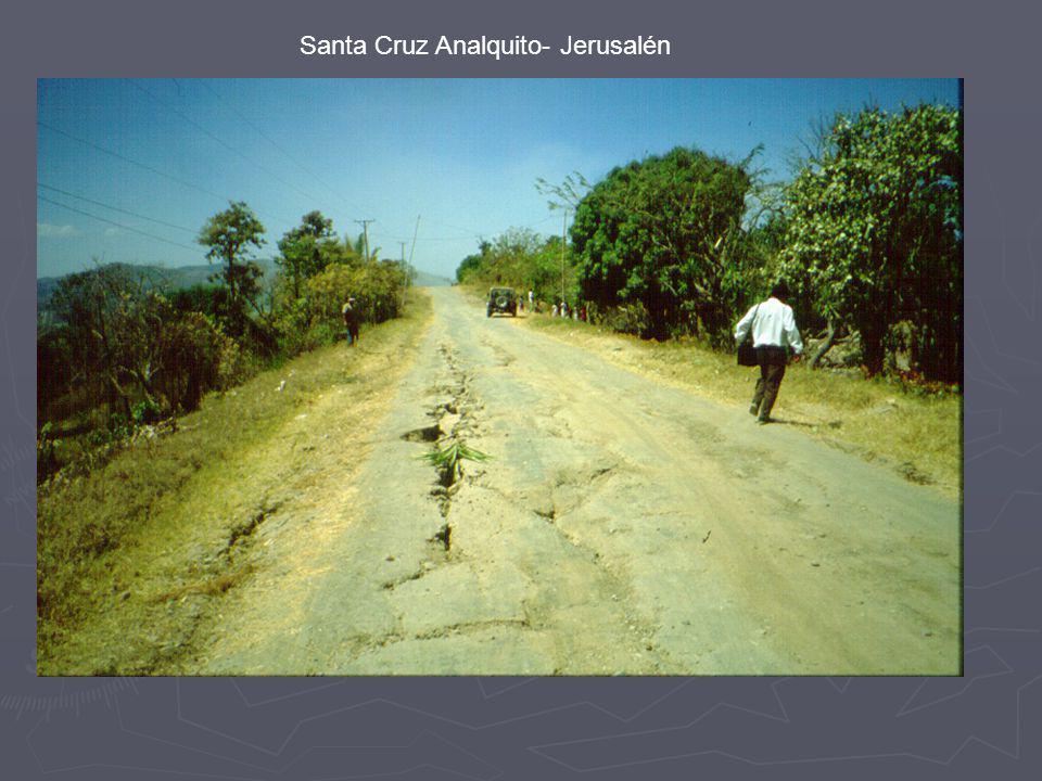 Santa Cruz Analquito- Jerusalén