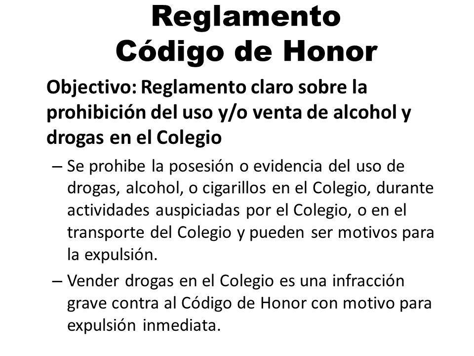 Reglamento Código de Honor