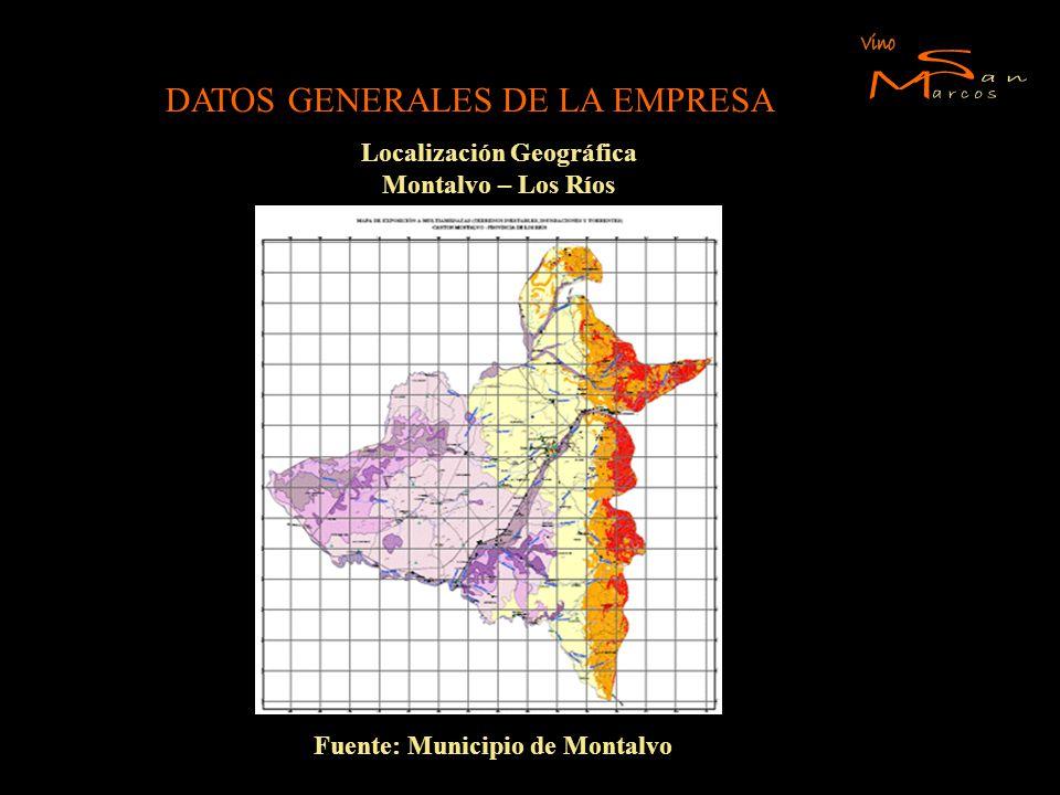 Localización Geográfica Fuente: Municipio de Montalvo