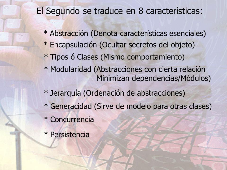 El Segundo se traduce en 8 características: