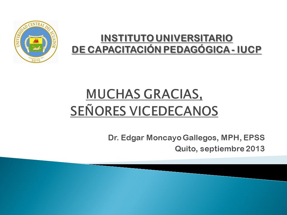 INSTITUTO UNIVERSITARIO DE CAPACITACIÓN PEDAGÓGICA - IUCP