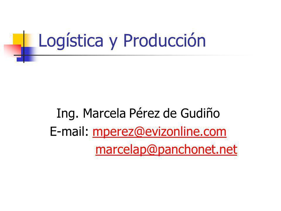Logística y Producción