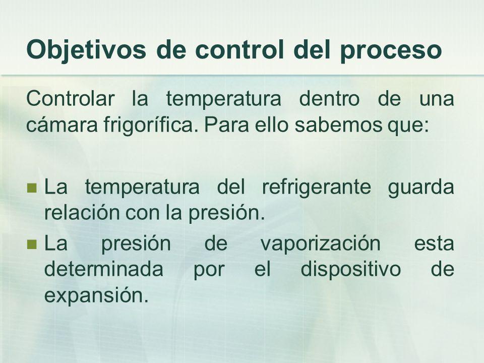 Objetivos de control del proceso