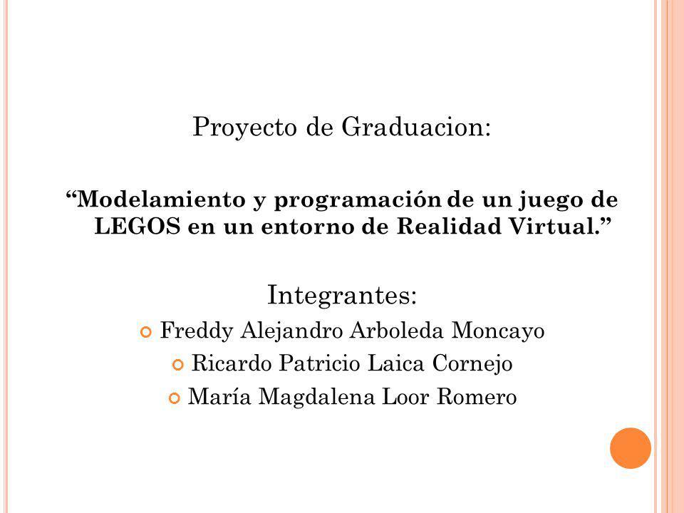 Proyecto de Graduacion: