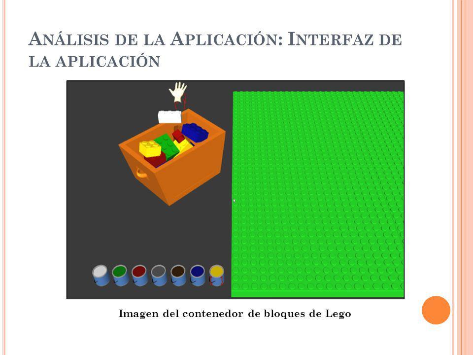 Análisis de la Aplicación: Interfaz de la aplicación