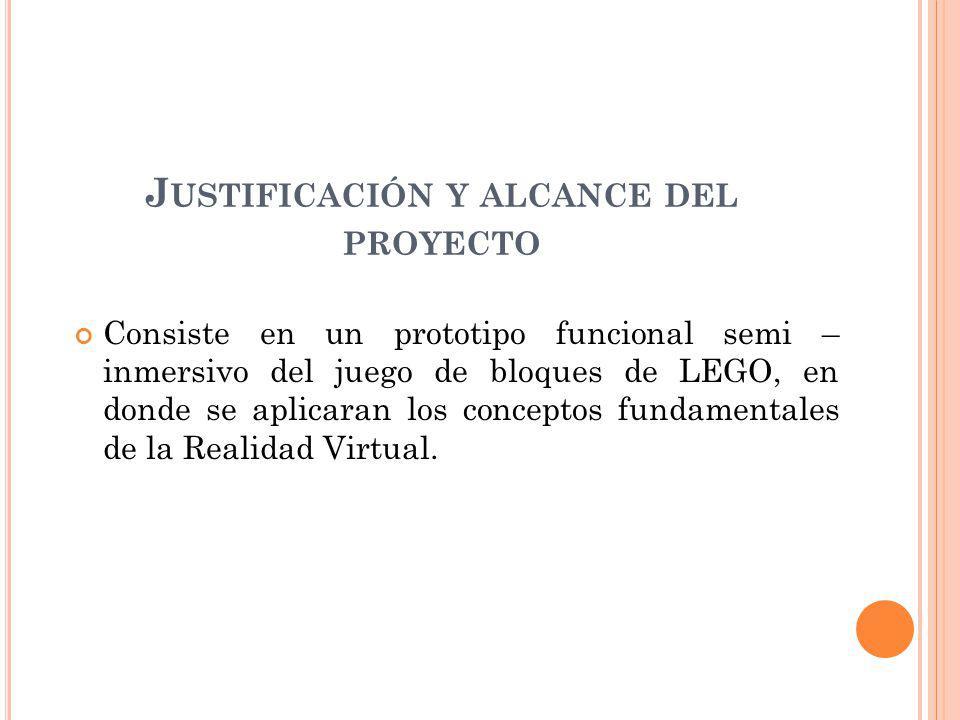 Justificación y alcance del proyecto