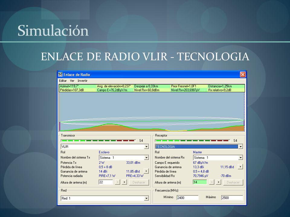 ENLACE DE RADIO VLIR - TECNOLOGIA