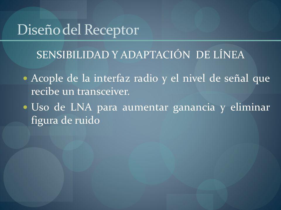 SENSIBILIDAD Y ADAPTACIÓN DE LÍNEA