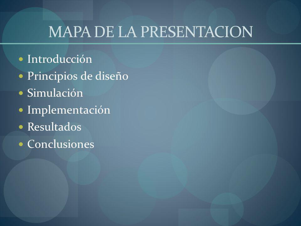 MAPA DE LA PRESENTACION