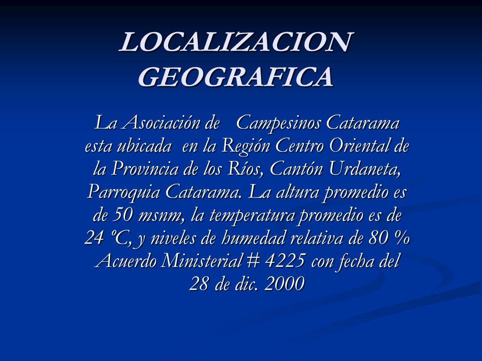 LOCALIZACION GEOGRAFICA