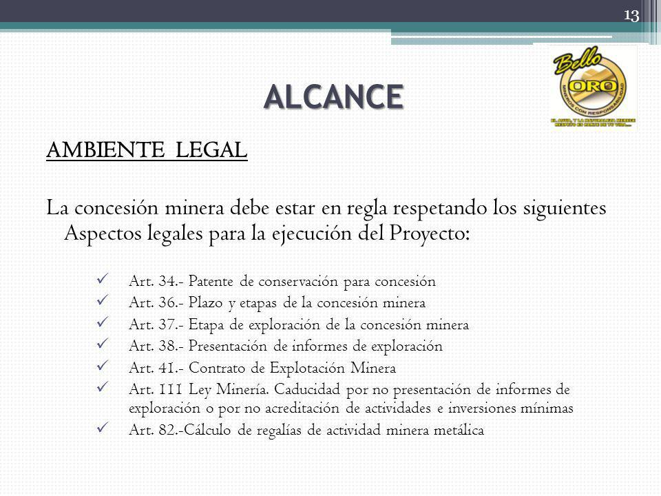 ALCANCE AMBIENTE LEGAL