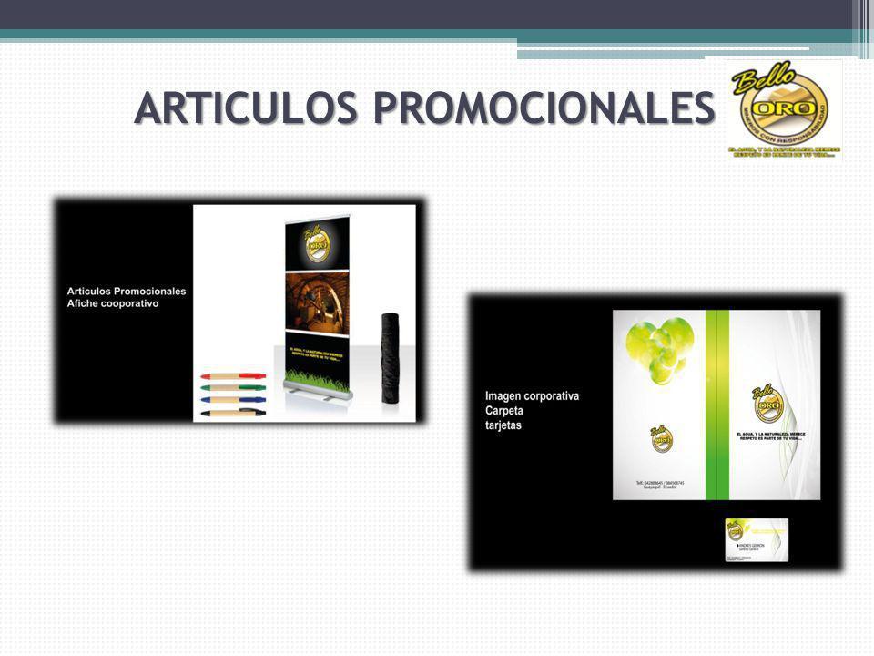 ARTICULOS PROMOCIONALES