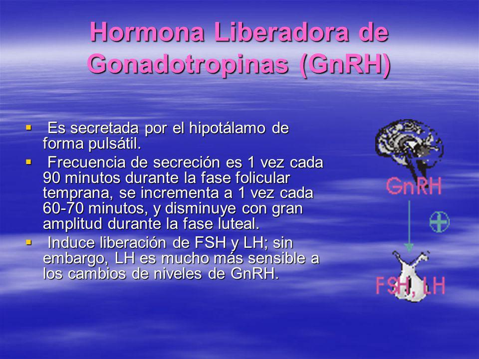Hormona Liberadora de Gonadotropinas (GnRH)