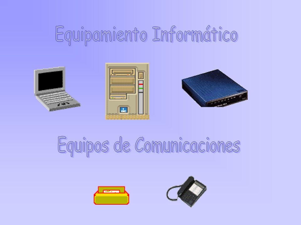 Equipamiento Informático