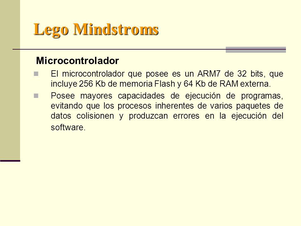 Lego Mindstroms Microcontrolador