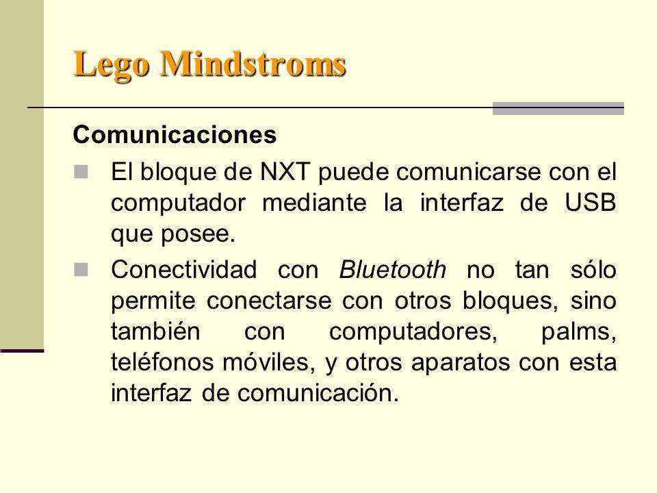 Lego Mindstroms Comunicaciones