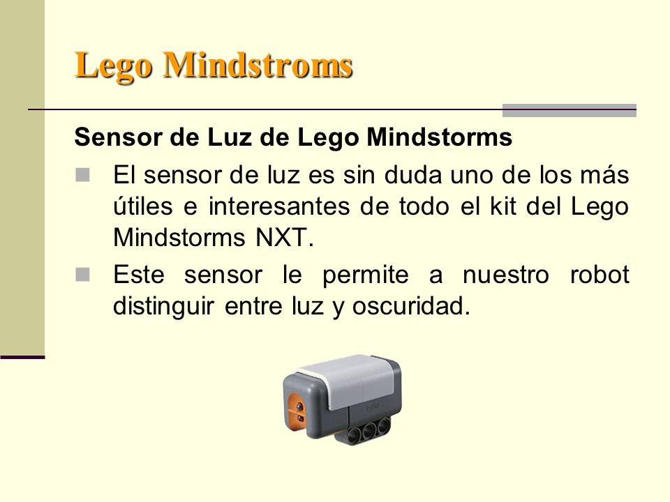 Lego Mindstroms Sensor de Luz de Lego Mindstorms