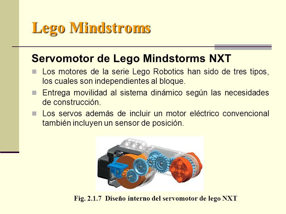 Lego Mindstroms Servomotor de Lego Mindstorms NXT