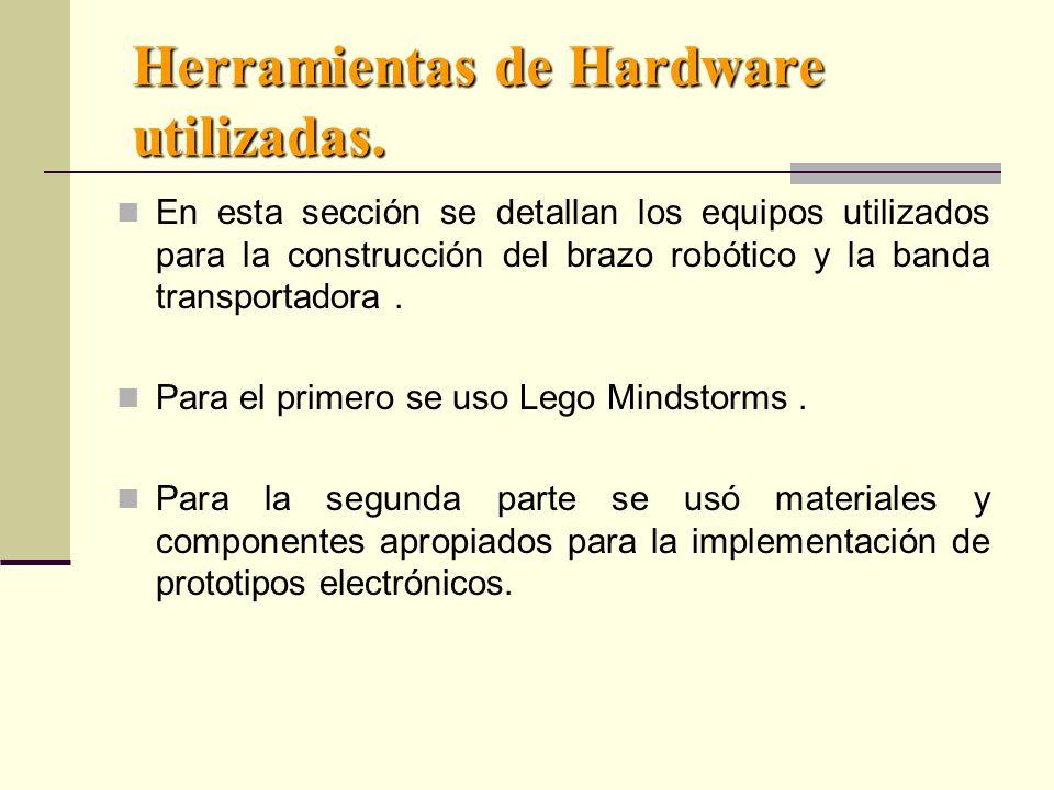 Herramientas de Hardware utilizadas.
