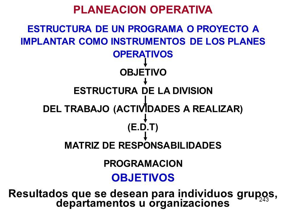 DEL TRABAJO (ACTIVIDADES A REALIZAR) MATRIZ DE RESPONSABILIDADES