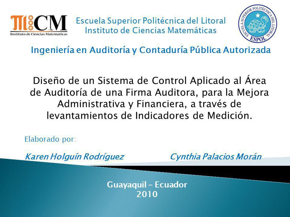 Ingeniería en Auditoría y Contaduría Pública Autorizada